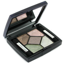 Тени для век Christian Dior -  5-Colour Eyeshadow Iridescent №409 Tropical Light